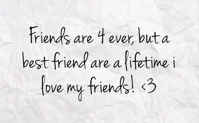 Facebook Statuses About Friendship